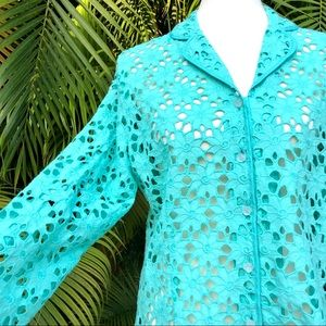 Lilly Pulitzer Inez lightweight jacket/coverup